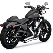 Vance And Hines 26067 Chrome Big Radius Exhaust System For 14-20 Sportster Xl