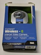 Linksys Wireless G Internet Video Camera- Wvc54gc Compact Unit With Power Supply