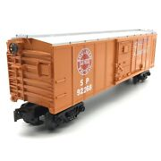 Mth Rail King 30-7441 O Scale Southern Pacific Boxcar Sp 92268