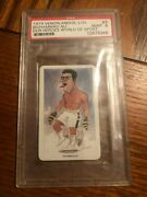 1979 Venorlandus Our Heroes World Of Sport Boxing Muhammad Ali 3 Psa 9