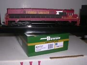 Bowser 24727 Lehigh Valley C-628 Diesel Loco 638 Cornell Red W/dcc And Sound