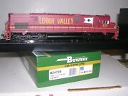 Bowser 24728 Lehigh Valley C-628 Diesel Loco 639 Cornell Red W/dcc And Sound