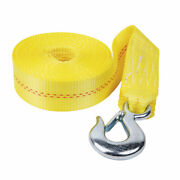 Fulton 2 X 20and039 Heavy Duty Winch Strap And Hook 4000 Lbs. Max Load Ws20hd0600