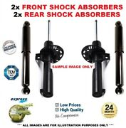 Front + Rear Shock Absorbers Set For Mercedes Benz M-class Ml270 Cdi 1999-2005