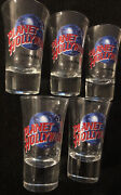 Planet Hollywood Shot Glass Lot 5x Beverly Hills San Francisco Glass