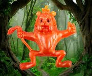 New Vintage 1967 Wizard Of Oz Cowardly Lion Oily Jiggler Rubber Russ Berrie Rare