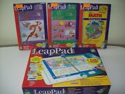 Leap Frog Leap Pad Learning Center Interactive Talking Book Lot