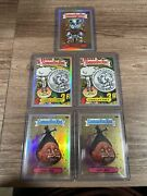 2020 Topps Chrome Garbage Pail Kids Series 3 Refractor And Base Lot
