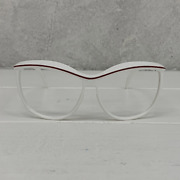 Computer Reading Glasses Spitifire Plasticine White Red 60 17 135 + Hoya Lens