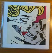 Dface Extremely Rare Kiss Of Death Signed Numbered Art Print / Signed Postcard