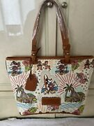 Disney Dooney Aulani Sketch Le Tote Bag Nwt Perfect Placement Retired