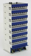 8 Story High Rise Office Commercial Building N Scale Hand Painted Weathered New