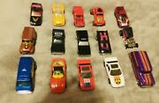 Vintage Lot Of 38 Matchbox And Hot Wheels Vehicles 1970and039s 1980andrsquosmostly