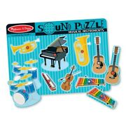 Melissa And Doug Sound Puzzle Musical Instruments