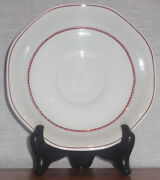 Discontinued Wedgwood Flying Cloud Rust Color Tea Cup Saucer Only