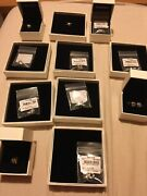 Pandora 20th Anniversary Complete Set Of 12 Charms With Certificates And Boxes