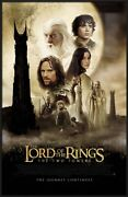 Lord Of The Rings - Two Towers - Framed Movie Poster Regular Size 27 X 39