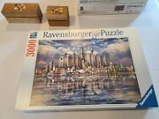 Ravensburger 3000 Piece Puzzle - Skyline Of Famous Buildings - North American