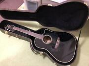 Takamine Tdp 861c Bl Electric Acoustic Guitar W / Hard Case [excellent]