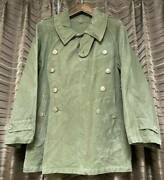 M38 Motorcycle Jacket Vintage French Army Coat Earliest Color Green Outerwear