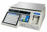 Cas Lp-1000n Ntep Label Printing Market Deli Food Scale And Labels New