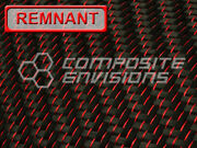 Red Reflections Carbon Fiber 2x2 Twill 3k 50 5.9oz Remnant 2nd Quality 4 Yard