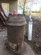 Antique Ww2 Army Space Heater Wood Stove