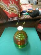 Outstanding Multi-color Glass Fly/wasp Catcher-yellow-red-green 8.5