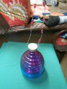 Outstanding Multi-color Glass Fly/wasp Catcher-blue-purple-lavender 8.5