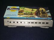 Athearn Silver Streamlined Diner Car 466 Ho Scale Kit 1797 Built With Box