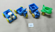 Vintage Fisher-price Little People Children Riding Toys Lot Of 4 26