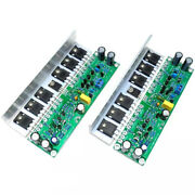 1 Pair L15 Mosfet Amplifier Board 2 Channel Amp Irfp140 Irfp9140+angle Aluminum