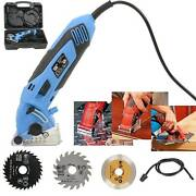 New 2020 Mini Circular Saw Strong Tool 54.8mm Wood Tile Metal Blades Guide 400w