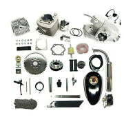 Bike Motor Bicycle Engine 2 Stroke 80cc Complete Kits Packed In 3 Inside Boxes