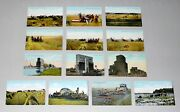 Lot Of 13 Antique Postcards From Canada - The Valentine Publishing Co.