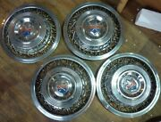 1953 1954 1955 Dodge Cello Wire Wheels Covers And Hubcaps Centers Set Of 4 15 Oem