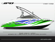 Ipd Boat Graphic Kit For Yamaha 212x, 212ss, Sx210, And Ar210 Ob Design