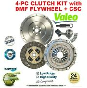 Valeo 4pc Dmf Clutch Kit For Mercedes Sprinter Chassis 511 Cdi 4x4 2006-2009