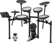 Roland Td-17kv V-drums Electronic Drum Kit And Mds Compact Drum Stand