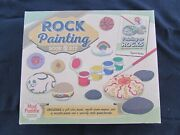 Fantastic Mud Puddle Deluxe Rock Painting Kit And Book - Mint Unsed Condition