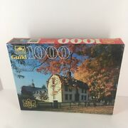 1000 Pc Interlocking Jigsaw Puzzle Old Deerfield, Ma From Golden Guild Brand New