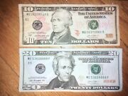Fancy Serial Number Couple -3608888/063-8888 Lucky Serial Number Bills
