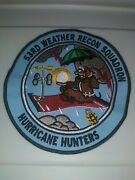 Patch Usaf 53rd Weather Recon Squadron Hurricane Hunters Rare Vtg 5 1/4