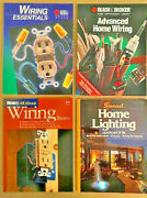 Lot Of 4 Homeowner Diy Wiring And Lighting Books