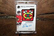 2019-20 Upper Deck The Cup Kirby Dach Inked Insignias Autograph Must See