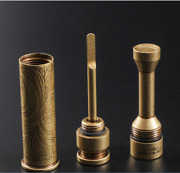 New Creative Pure Brass Tobacco Pipe Tamper Cigar Needle Pipe Cleaning Tool