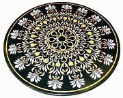48 X 48 Inches Handmade Crafts Dinette Table Top Round Marble Patio Coffee Table