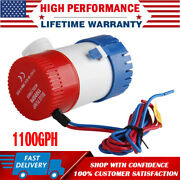 12v 1100gph Submersible Electric Boat Marine Bilge Water Pump For Yacht Spa Pool