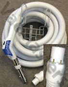 Genuine Vacuflo Turbogrip Central Vacuum Hose And Parts 7352 Fits Automatic Inlets