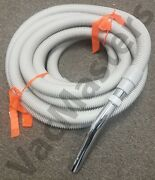 Genuine Vacuflo Ultralite Central Vacuum Hose And Parts 6453 Fits 1.5 Universal
